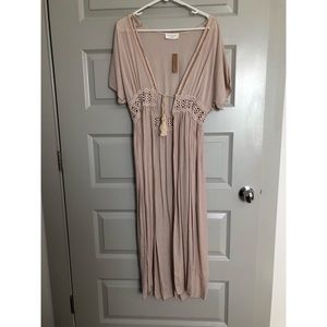 Boutique Tan- Dress/Cover Up- NWT- One Size